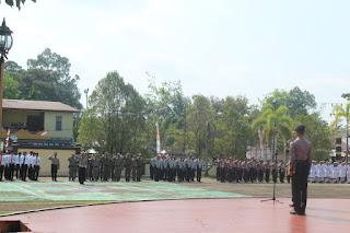 Polres Melawi Kalimantan Barat Melaksanakan Apel Gelar Pasukan Oprasi Patuh Kapuas Tahun 2019