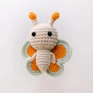 Amigurumi Mariposa a Crochet