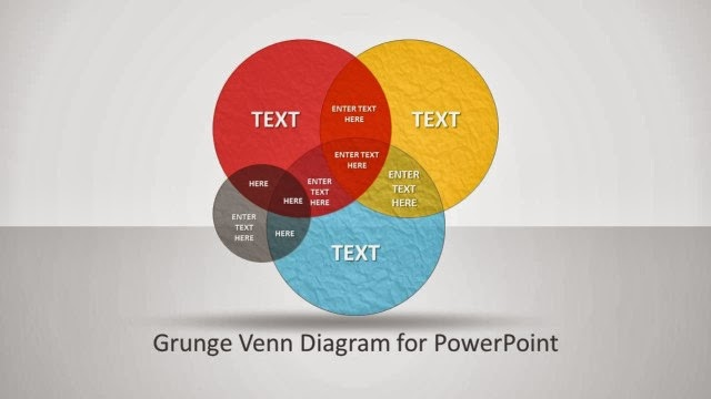Editable Venn Diagram Design for PowerPoint Presentations