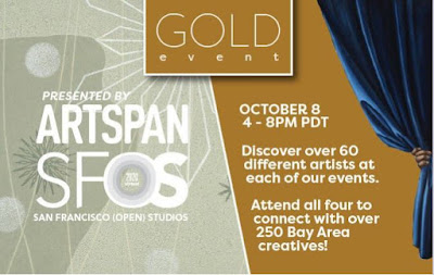 ArtSpan SFOS Gold Event - Virtual Open Studios
