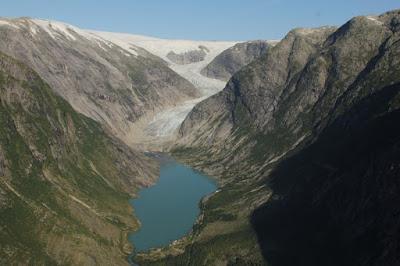 Glaciar Nigards en 2013