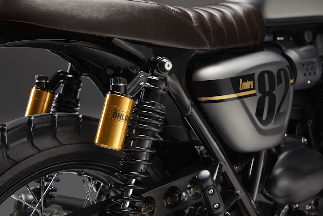 Triumph Street Twin By Bunker Custom Cycles Hell Kustom