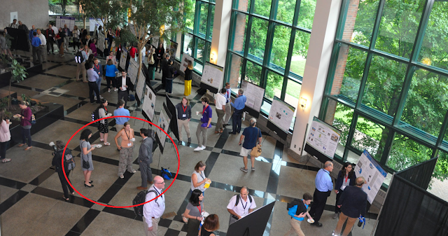 View of poster competition at the 2019 Appalachian State University Energy Conference.