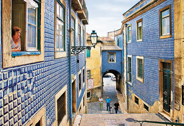 Bairro de Alfama em Lisboa