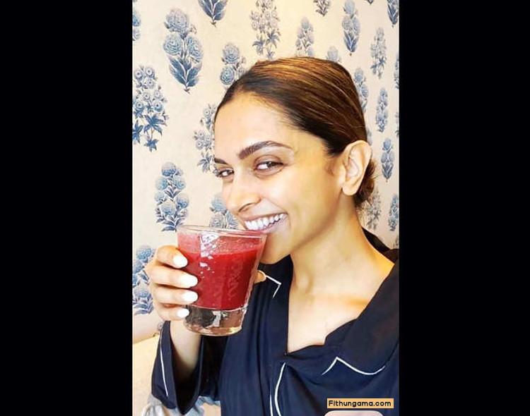deepika-padukone-drink-healthy-juice