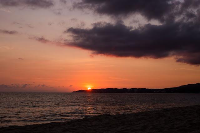 Beach sunset Photo by Jackie Lamas on Unsplash