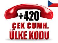 +420 Çek Cumhuriyeti ülke telefon kodu
