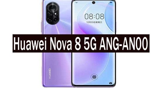 Huawei Nova 8 5G ANG-AN00 Stock Rom