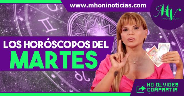 Los horóscopos del MARTES 01 de JUNIO del 2021 - Mhoni Vidente