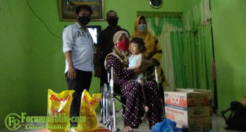 Bocah 6 Tahun asal Hamparan Perak Disabilitas Sejak Lahir, Dapat Perhatian Kabaharkam Polri