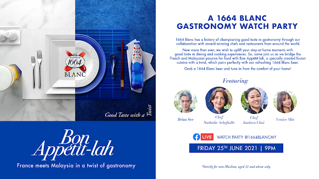 1664 Blanc Takes Centre Stage with French-Malaysian Gastronomy in Bon Appétit-lah