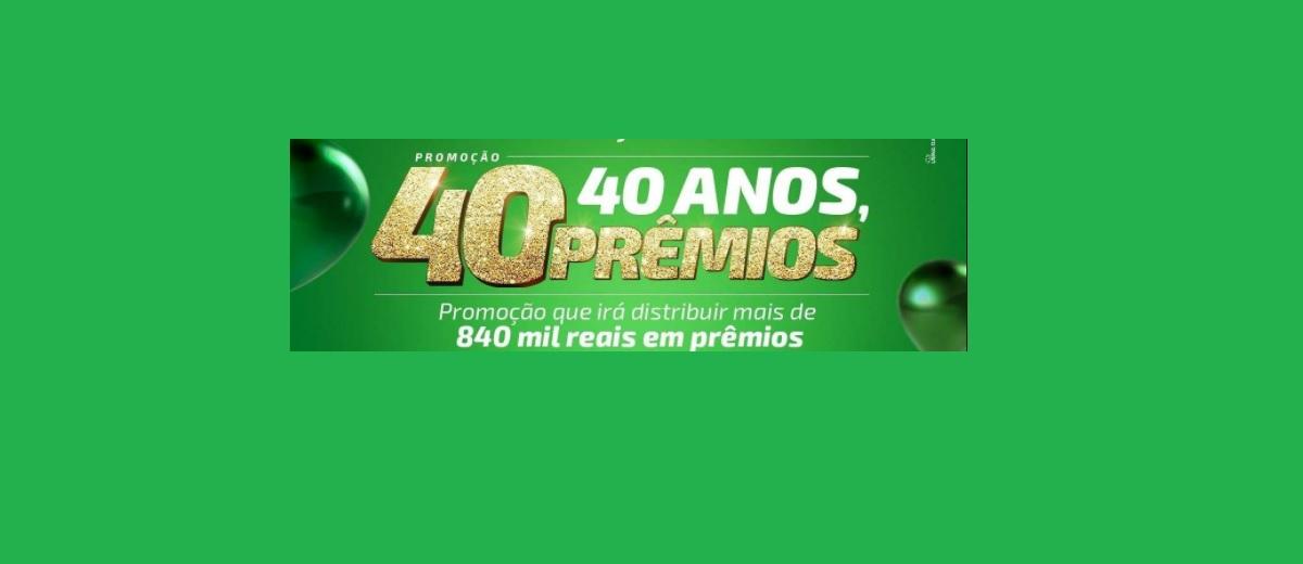 Promoção Sicredi 40 Anos 40 Prêmios Botucaraí RS/MG Mais de 840 Mil Reais em Prêmios