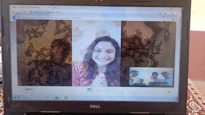 लेखिका आमच्या भेटीला-विद्या मंदिर वेंगरूळ शाळेचा उपक्रम