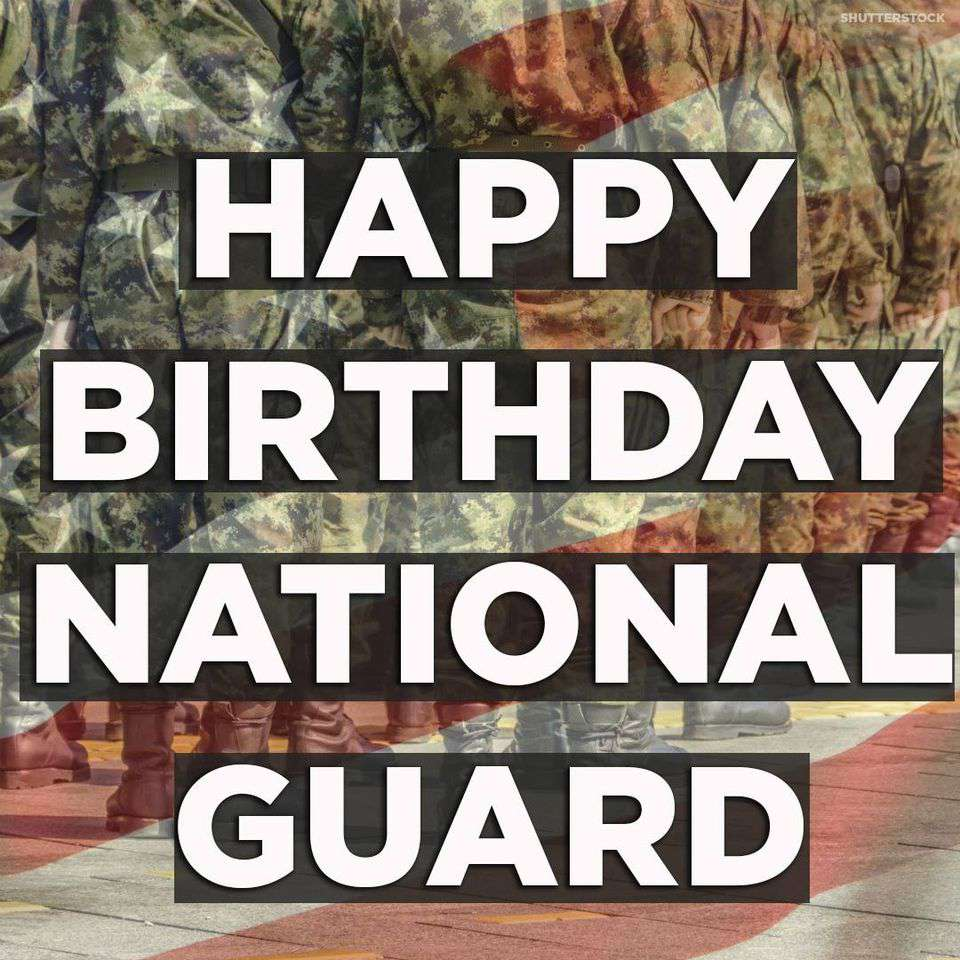 U.S. National Guard Birthday Wishes for Instagram