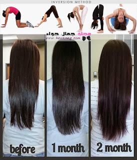 خلطات لتطويل الشعر مجربة