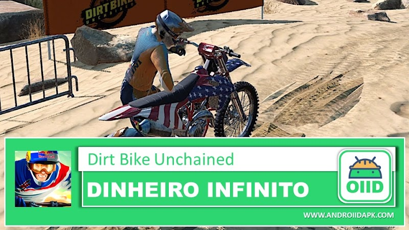 Dirt Bike Unchained - APK MOD HACK - Dinheiro Infinito