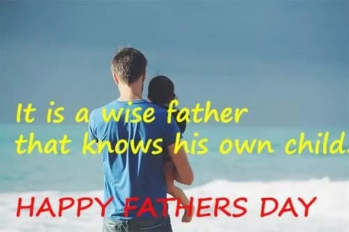 Fathers, be your daughter's 1st love and she'll never settle for anything less.HAPPY FATHERS DAY