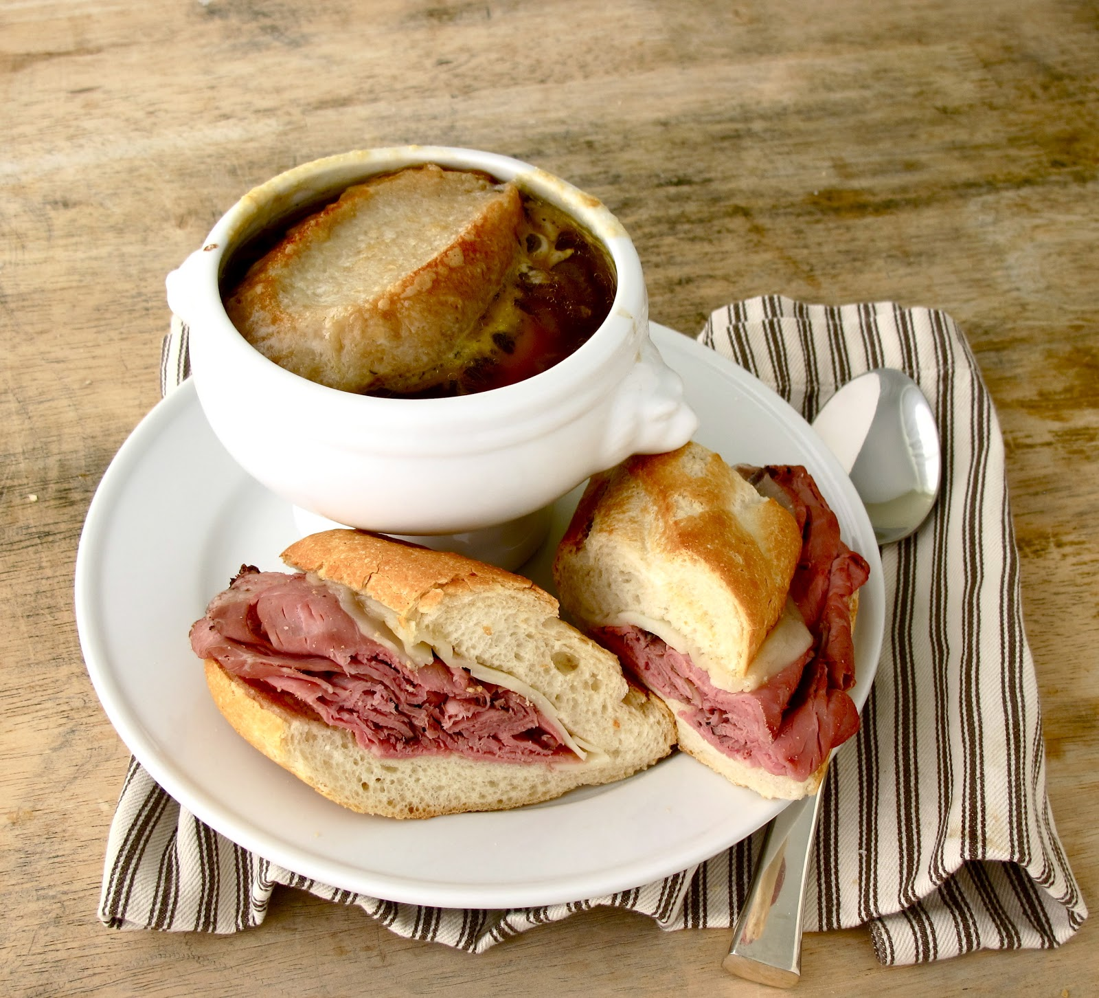 Jenny Steffens Hobick Recipes: Jenny Steffens Hobick: French Dip Sandwiches With French