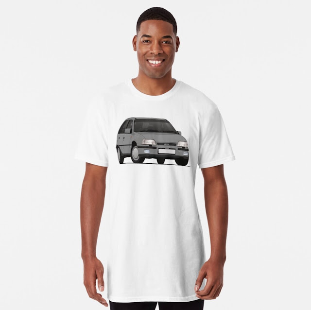 Vauxhall Astra GTE 16V - Classic car T-shirt