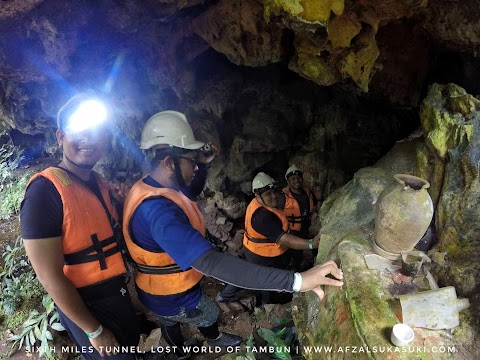 Pengalaman Meneroka Sixth Miles Tunnel di Lost World Of Tambun, Perak