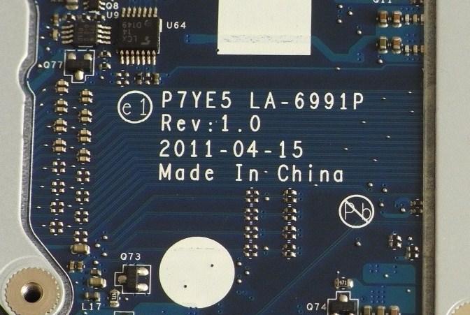 LA-6991P Rev 1.0 Acer Aspire 7560G P7YE5 AMD Bios