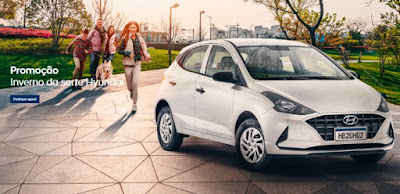 Cadastrar Promoção Inverno da Sorte Hyundai 2021