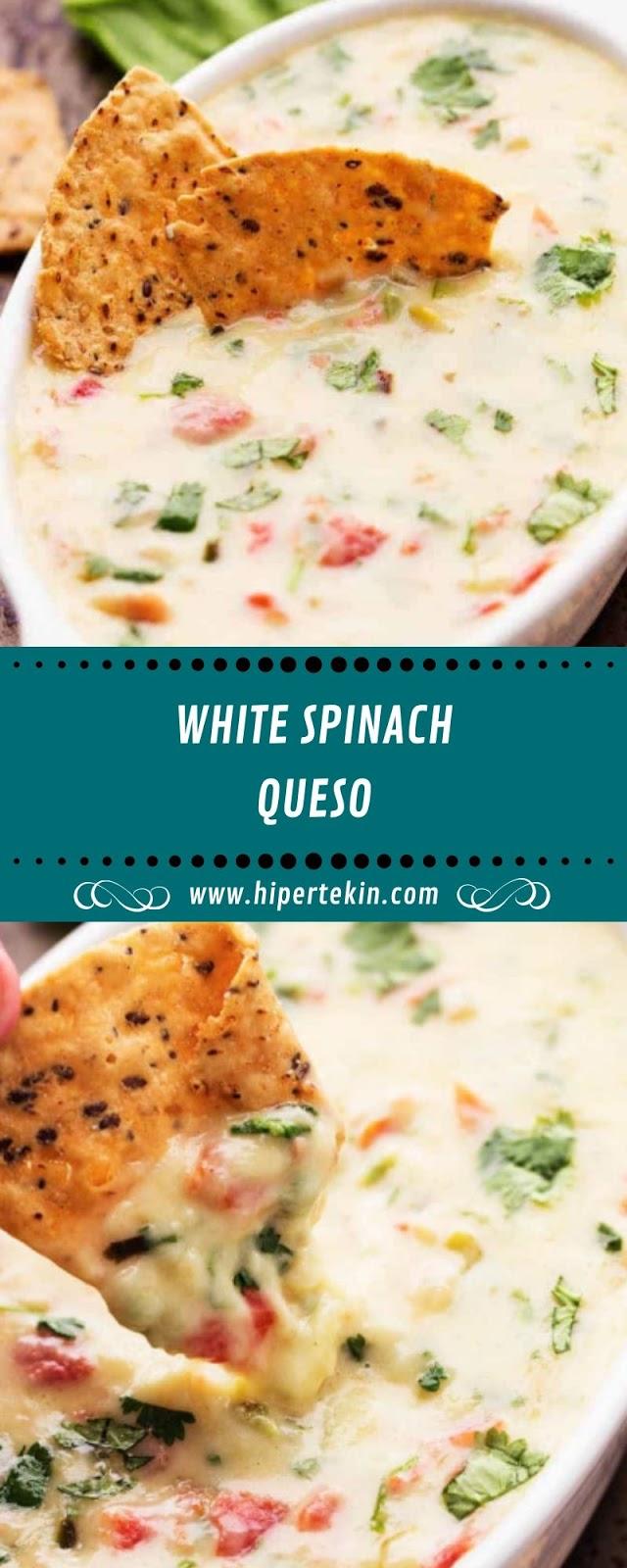 WHITE SPINACH QUESO