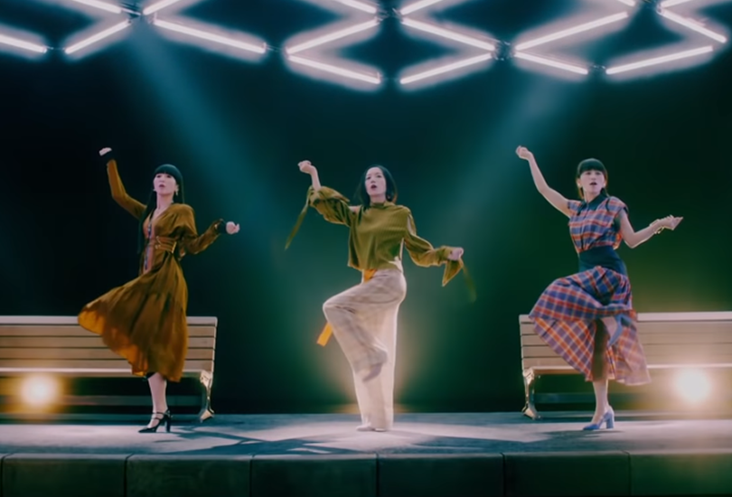 "Music video: Perfume ride a glory hole bus to nowhere in ""Let me know"" 