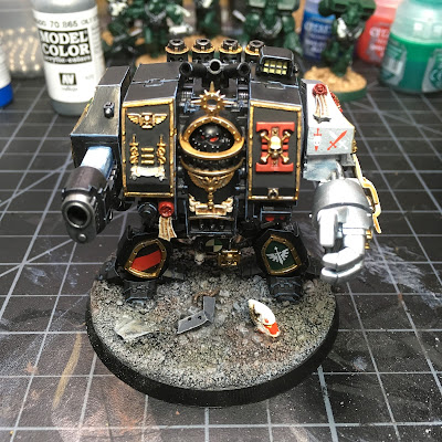 WIP: Deathwatch Dreadnought (Front)