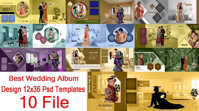 latest new karizma album design psd 12x36 free download