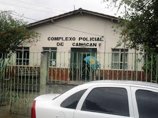 Resultado de imagem para delegacia de Camacan Bahia