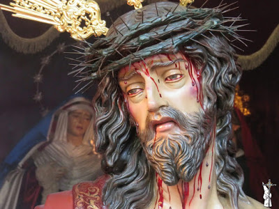 El 13 de agosto se presentará el Señor de la Piedad de la Plaza Turmalina (Sevilla), tras el estofado de la clámide