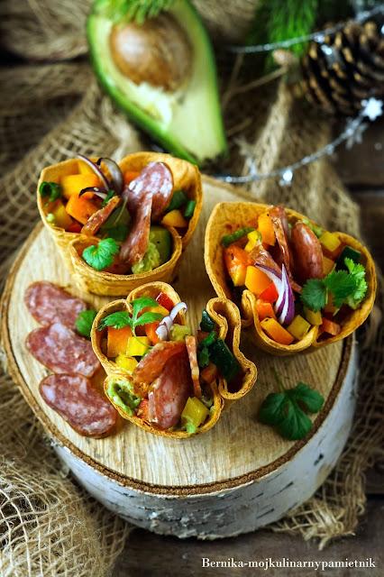 kielbasa, tortilla, sylwester, impreza, balcerzak, awokado, dynia, guacamole, bernika, kulinarny pamietnik