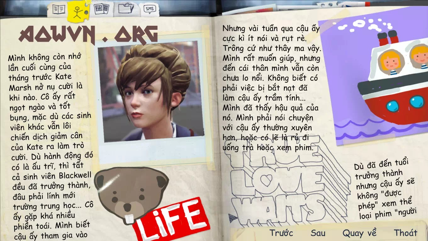 game life is strange viet hoa android aowvn%2B%25282%2529 - [ Cập Nhật ] Game Life is Strange Việt Hóa Full 100% | Android PC - siêu phẩm tuyệt hay