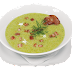 Cauliflower and Broccoli Soup with Bacon