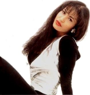 Foto de Selena con cabello suelto