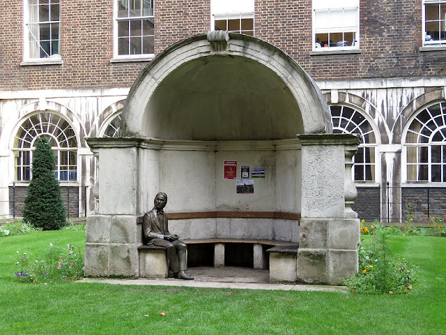 John Keats by Stuart Williamson, Guy's Hospital, London