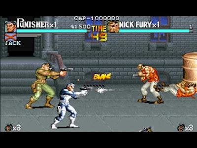 Il videogioco arcade di The Punisher