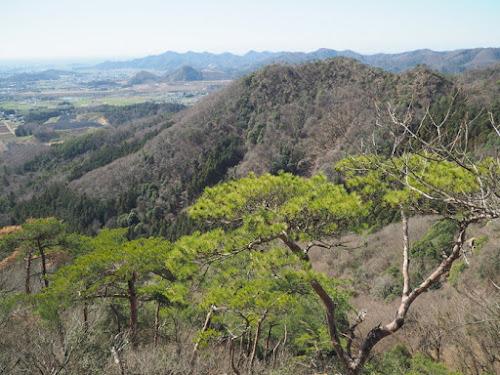 三床山上部からの眺め
