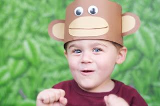 sombrerito-mono-para-niños