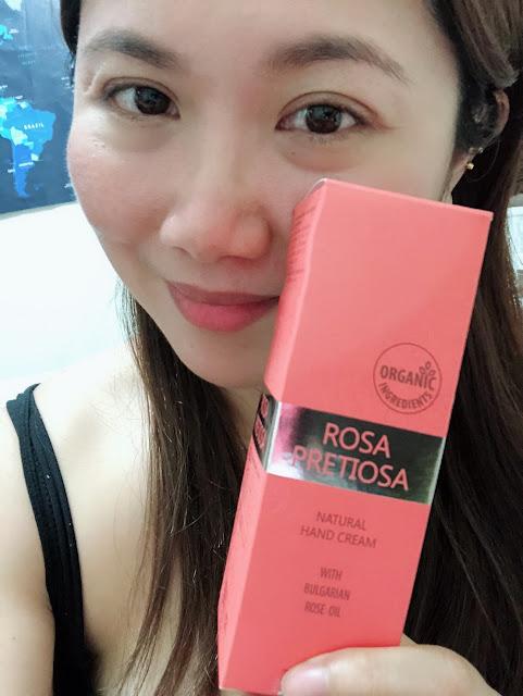 蘿蓓莎Rosa Pretiosa 來自保加利亞的玫瑰美顏霜+玫瑰護手霜