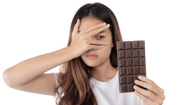 Makan coklat berlebihan