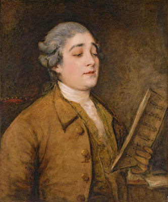 Thomas Gainsborough: Portrait of Portrait of Giusto Ferdinando Tenducci  c1773-1775 (Barber Institute of Fine Arts, Birmingham)