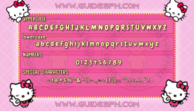Mobile Font: Chewy Font TTF, ITZ and APK Format