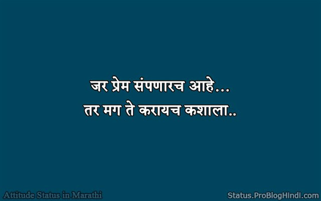marathi dp status