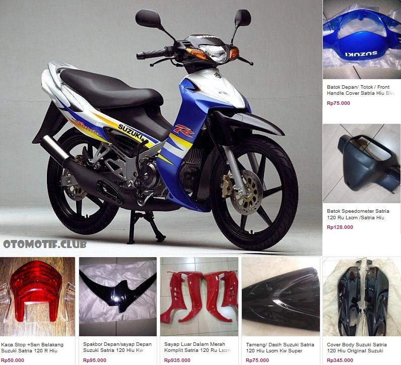 Daftar Harga Spare Part Suzuki Satria 120 2-tak