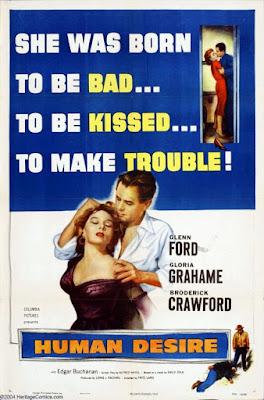Désirs humains (Human desire) Fritz Lang 1954