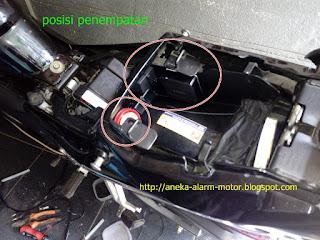 Cara pasang alarm motor CBR 150R THAILAND 2007