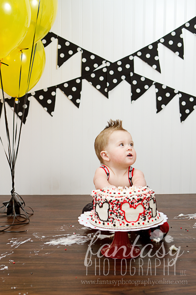 cake smash photographers in winston salem nc