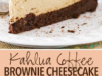 Kahlua Coffee Brownie Cheesecake Recipe